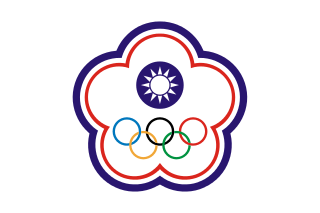 Chinese Taipei Olympic Flag