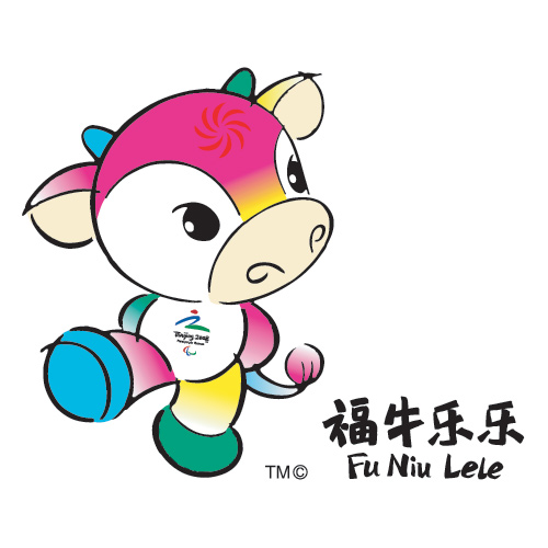 Gay Cow-I mean: 2008 Paralympic Mascot