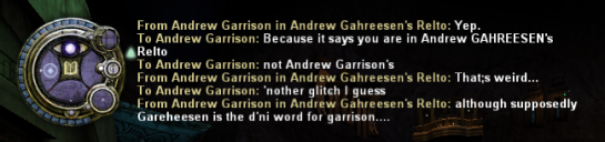 Yeah, that's his age, there is no Andrew Gahreesen.