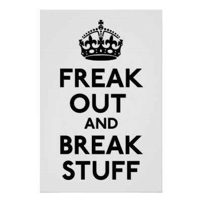 Freak Out and Break Stuff